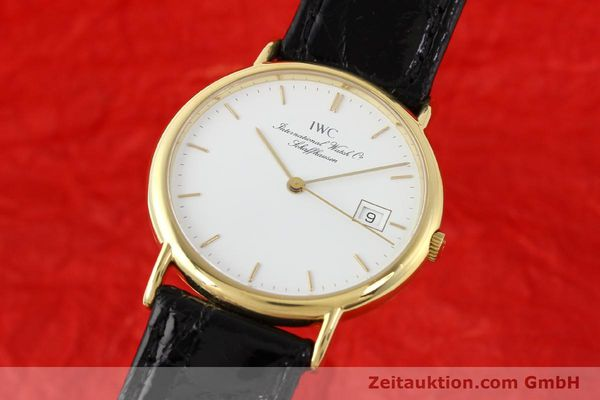 Used luxury watch IWC Portofino 18 ct gold quartz Ref. 3331  | 140545 04