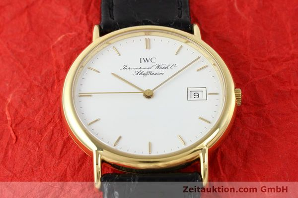 Used luxury watch IWC Portofino 18 ct gold quartz Ref. 3331  | 140545 15