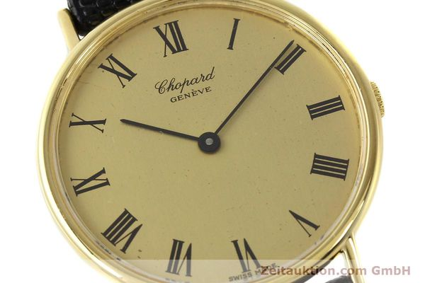 Used luxury watch Chopard * 18 ct gold manual winding Ref. 1048  | 140546 02