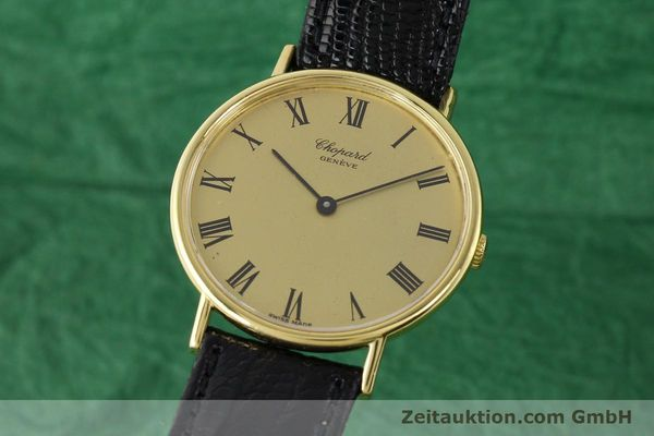 Used luxury watch Chopard * 18 ct gold manual winding Ref. 1048  | 140546 04