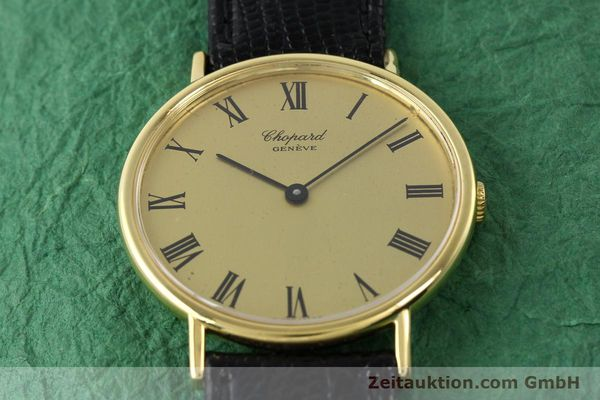 Used luxury watch Chopard * 18 ct gold manual winding Ref. 1048  | 140546 14