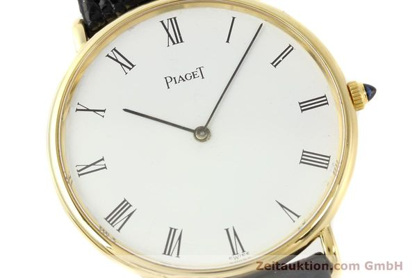 Used luxury watch Piaget * 18 ct gold manual winding Kal. 9P2 Ref. 9035  | 140547 02