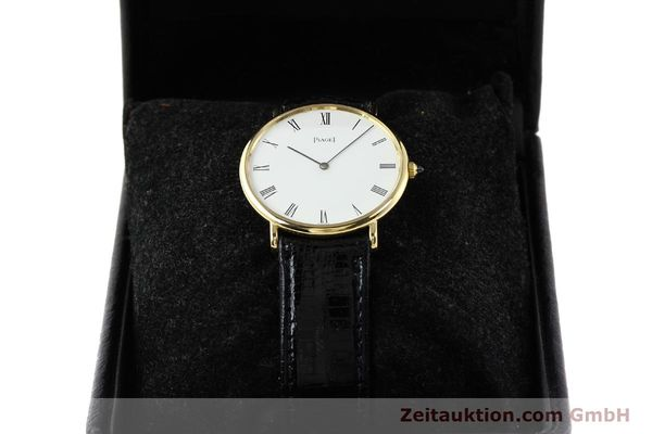Used luxury watch Piaget * 18 ct gold manual winding Kal. 9P2 Ref. 9035  | 140547 07