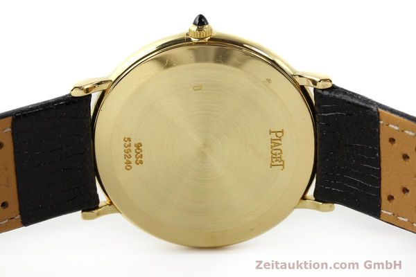 Used luxury watch Piaget * 18 ct gold manual winding Kal. 9P2 Ref. 9035  | 140547 08