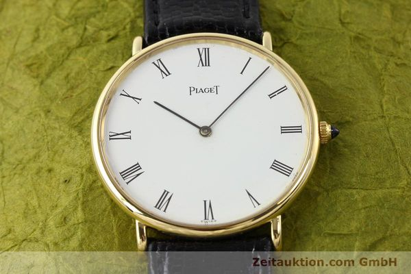 Used luxury watch Piaget * 18 ct gold manual winding Kal. 9P2 Ref. 9035  | 140547 14