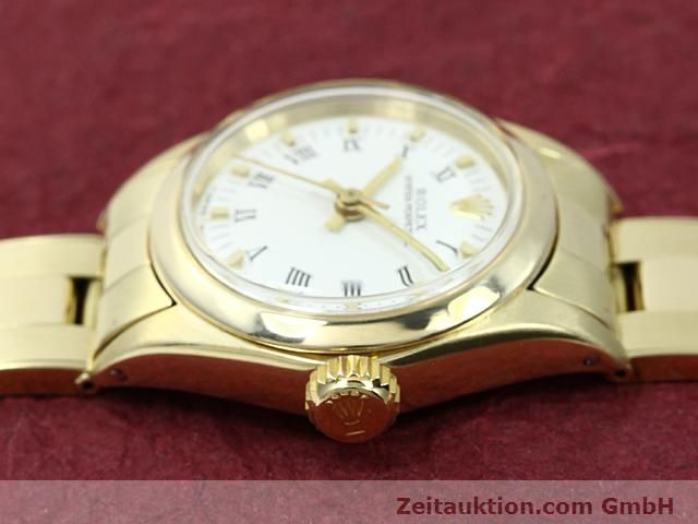 Used luxury watch Rolex Oyster Perpetual 14 ct yellow gold automatic Kal. 2030 Ref. 6718  | 140548 05