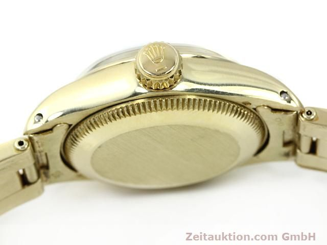 Used luxury watch Rolex Oyster Perpetual 14 ct yellow gold automatic Kal. 2030 Ref. 6718  | 140548 11