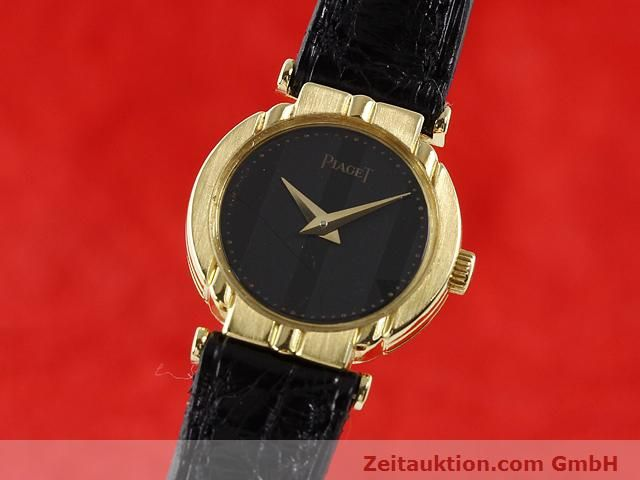 Used luxury watch Piaget * 18 ct gold quartz Kal. 8P2 Ref. 8243 VINTAGE  | 140549 04