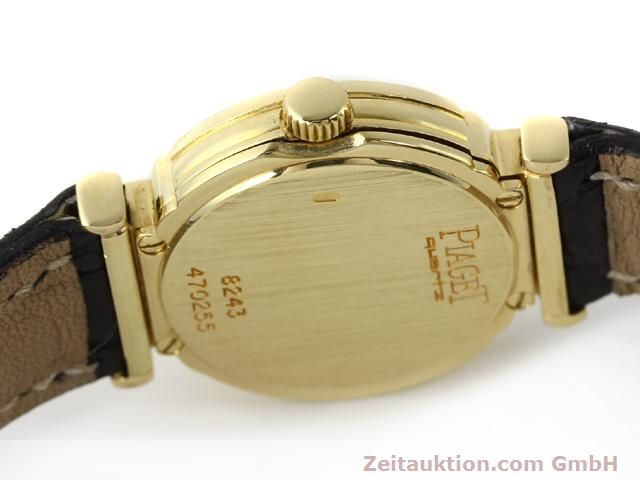Used luxury watch Piaget * 18 ct gold quartz Kal. 8P2 Ref. 8243 VINTAGE  | 140549 08