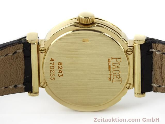 Used luxury watch Piaget * 18 ct gold quartz Kal. 8P2 Ref. 8243 VINTAGE  | 140549 09