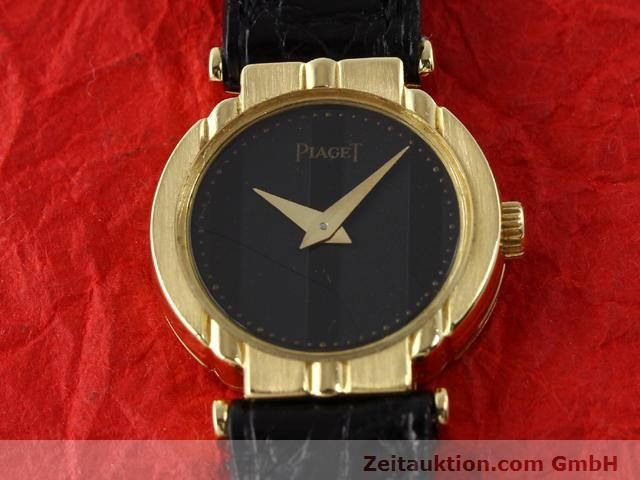 Used luxury watch Piaget * 18 ct gold quartz Kal. 8P2 Ref. 8243 VINTAGE  | 140549 15