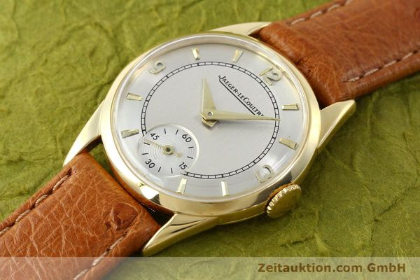 Used luxury watch Jaeger Le Coultre * 18 ct gold manual winding Kal. 417/3C  | 140551 01