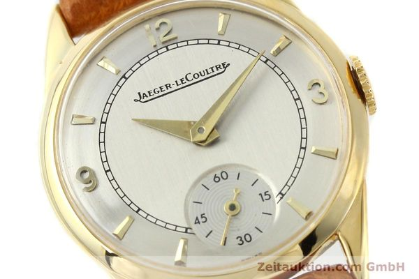 Used luxury watch Jaeger Le Coultre * 18 ct gold manual winding Kal. 417/3C  | 140551 02