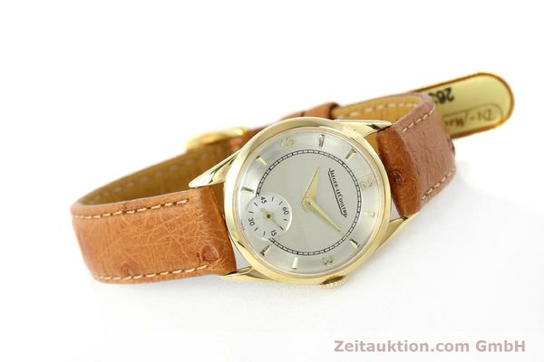 Used luxury watch Jaeger Le Coultre * 18 ct gold manual winding Kal. 417/3C  | 140551 03