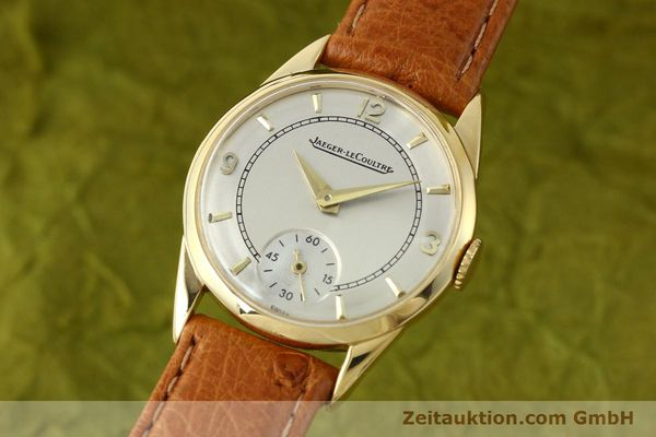 Used luxury watch Jaeger Le Coultre * 18 ct gold manual winding Kal. 417/3C  | 140551 04