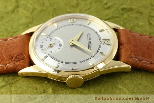 Used luxury watch Jaeger Le Coultre * 18 ct gold manual winding Kal. 417/3C  | 140551 05