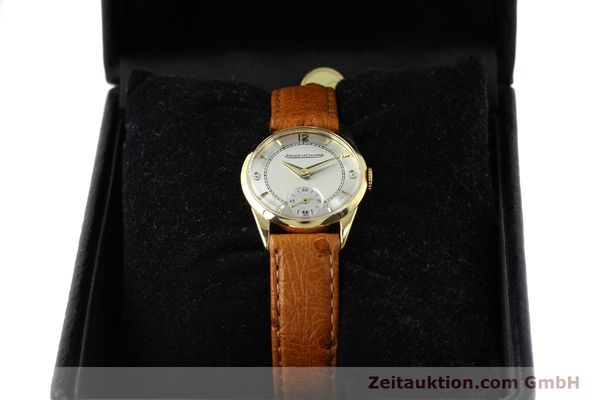 Used luxury watch Jaeger Le Coultre * 18 ct gold manual winding Kal. 417/3C  | 140551 07