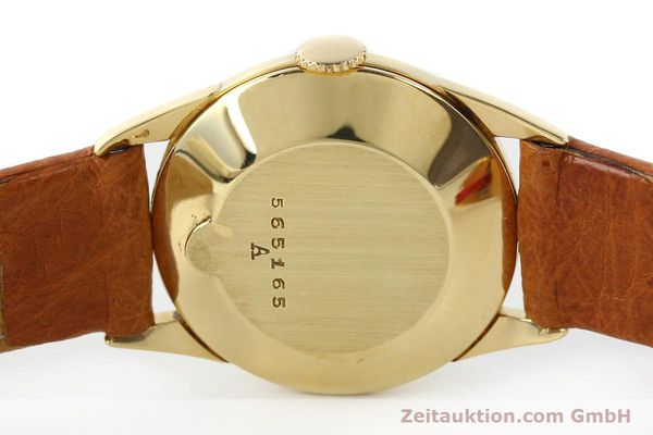 Used luxury watch Jaeger Le Coultre * 18 ct gold manual winding Kal. 417/3C  | 140551 08