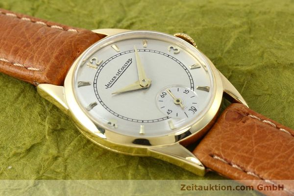 Used luxury watch Jaeger Le Coultre * 18 ct gold manual winding Kal. 417/3C  | 140551 13