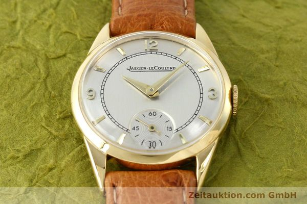 Used luxury watch Jaeger Le Coultre * 18 ct gold manual winding Kal. 417/3C  | 140551 14