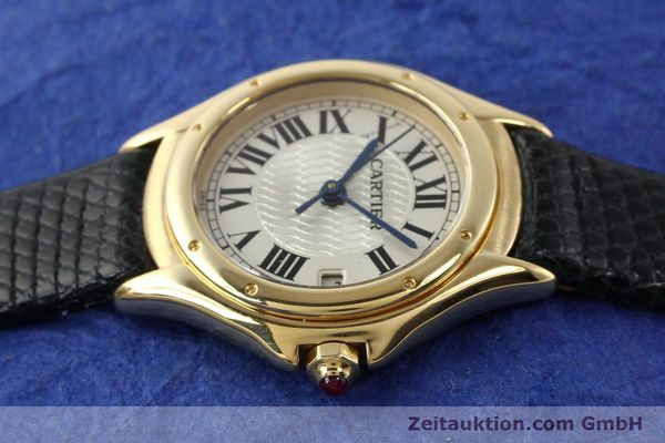 Used luxury watch Cartier Cougar 18 ct gold quartz Kal. 87.06  | 140552 05