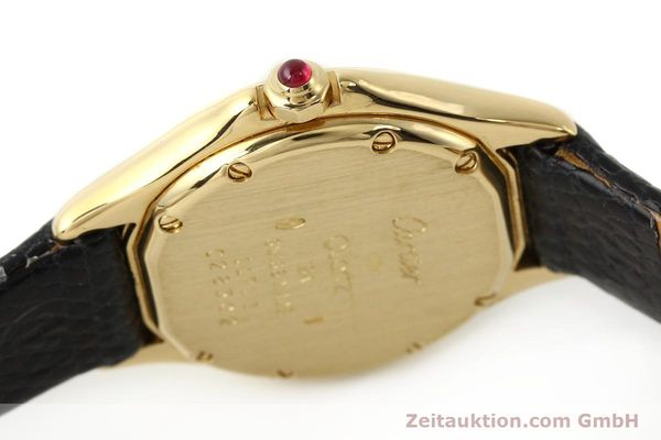 Used luxury watch Cartier Cougar 18 ct gold quartz Kal. 87.06  | 140552 08