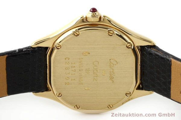 Used luxury watch Cartier Cougar 18 ct gold quartz Kal. 87.06  | 140552 09