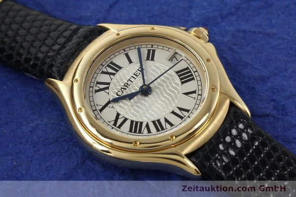 Used luxury watch Cartier Cougar 18 ct gold quartz Kal. 87.06  | 140552 14