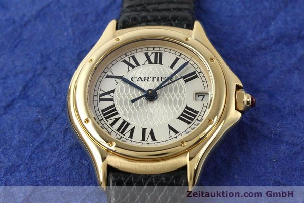 Used luxury watch Cartier Cougar 18 ct gold quartz Kal. 87.06  | 140552 15