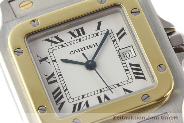 Used luxury watch Cartier Santos steel / gold automatic  | 140555 02