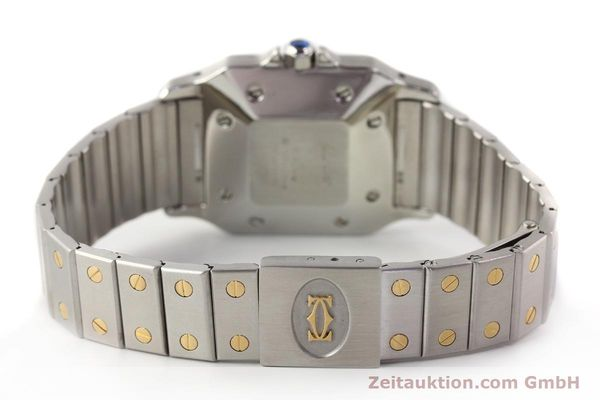 Used luxury watch Cartier Santos steel / gold automatic  | 140555 09