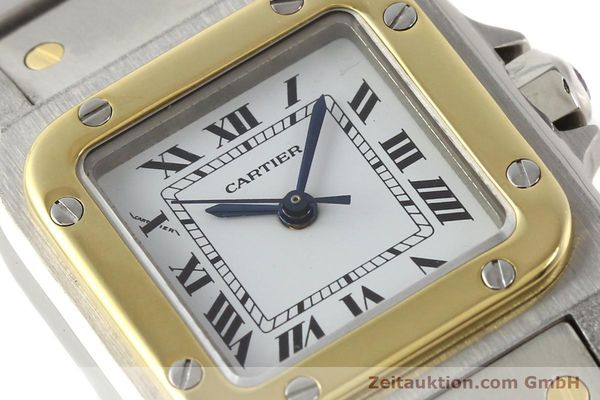 Used luxury watch Cartier Santos steel / gold automatic  | 140560 02