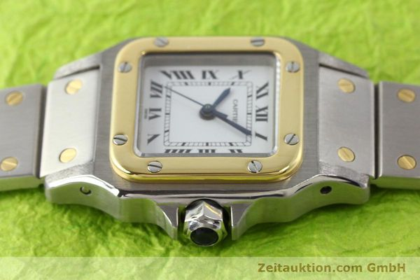 Used luxury watch Cartier Santos steel / gold automatic  | 140560 05