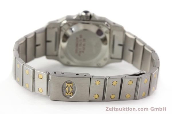 Used luxury watch Cartier Santos steel / gold automatic  | 140560 10