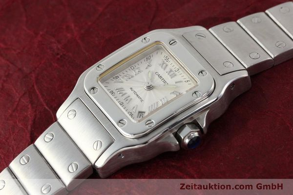 Used luxury watch Cartier Santos steel automatic  | 140561 01