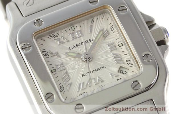 Used luxury watch Cartier Santos steel automatic  | 140561 02