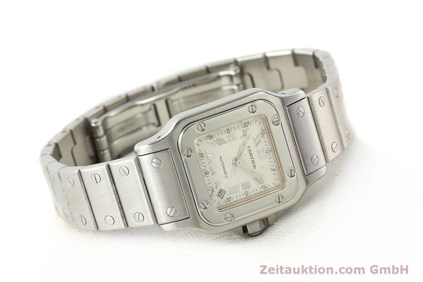 Used luxury watch Cartier Santos steel automatic  | 140561 03