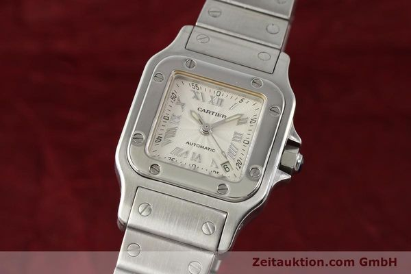 Used luxury watch Cartier Santos steel automatic  | 140561 04
