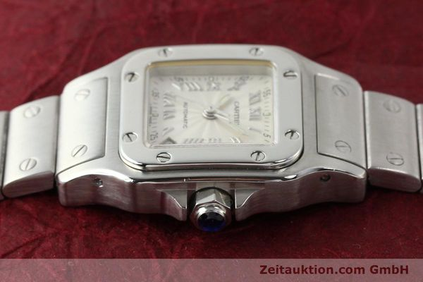 Used luxury watch Cartier Santos steel automatic  | 140561 05