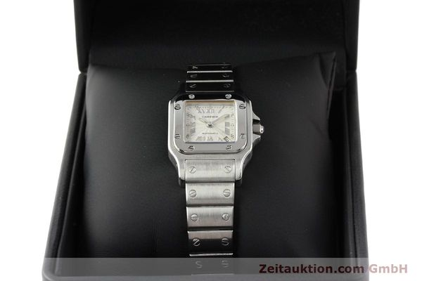 Used luxury watch Cartier Santos steel automatic  | 140561 07