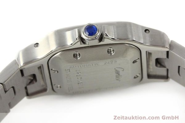 Used luxury watch Cartier Santos steel automatic  | 140561 08