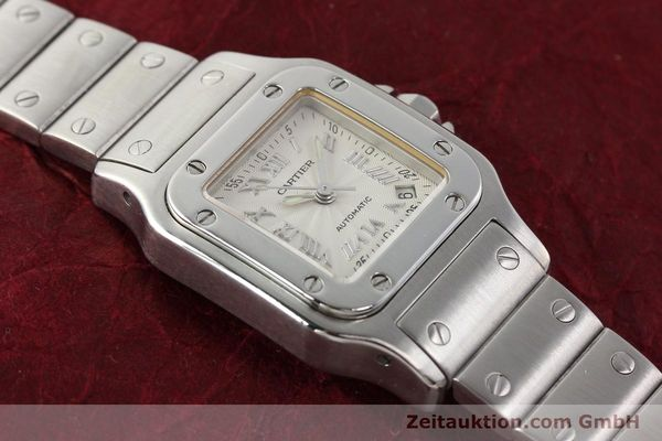 Used luxury watch Cartier Santos steel automatic  | 140561 13