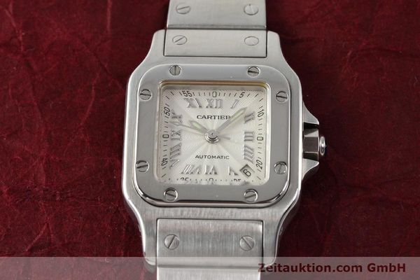 Used luxury watch Cartier Santos steel automatic  | 140561 14