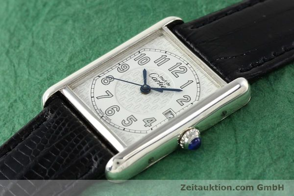 Used luxury watch Cartier Tank silver quartz VINTAGE  | 140562 01