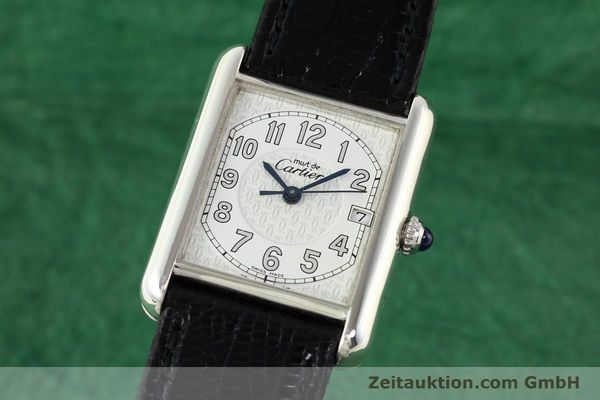 Used luxury watch Cartier Tank silver quartz VINTAGE  | 140562 04