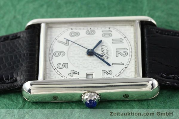 Used luxury watch Cartier Tank silver quartz VINTAGE  | 140562 05