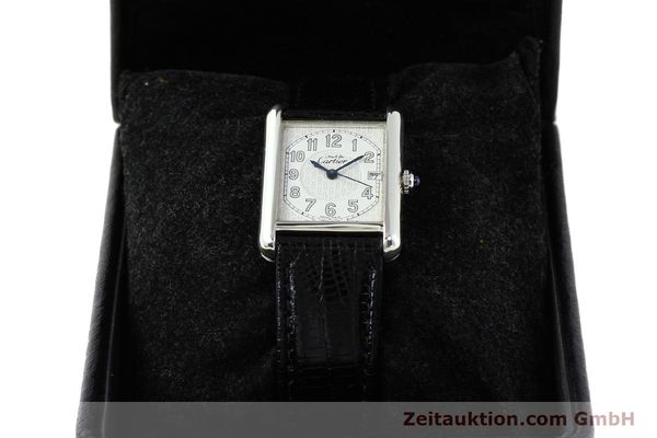 Used luxury watch Cartier Tank silver quartz VINTAGE  | 140562 07