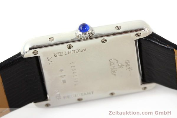 Used luxury watch Cartier Tank silver quartz VINTAGE  | 140562 08