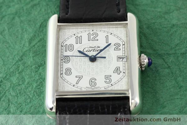 Used luxury watch Cartier Tank silver quartz VINTAGE  | 140562 13