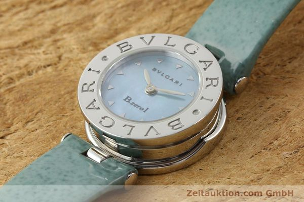 Used luxury watch Bvlgari Bzero steel quartz Kal. 100110771 TEEI Ref. BZ22S VINTAGE  | 140563 01